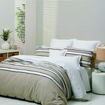 House Brands Neutrals Cheltenham Duvet Set With 2 Standard Pillow Cases