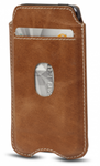 D'Bramante Leather Cover For Iphone 5 - Golden Tan