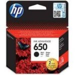 HP CZ101AE 650 Black Ink Cartridge