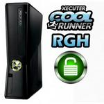 XBOX 360 Slim 4gb Matt  Rgh Tx & Unlocked Pcb Black