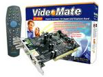 Compro S350 videomate, Internal PCI Digital Satellite (DVB-S) TV Tuner Card With Remote Control