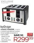 Byd:sign 4 Slice Toaster(toa4000)