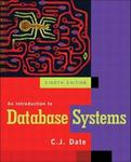 Addison Wesley An Introduction to Database Systems, Eighth Edition