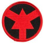 ASP Patch Red Arrow