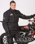 DMD Black Sahara Mens Touring Jacket