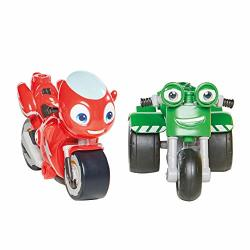 Ricky Zoom Motorcycle Toy & Dj Rumbler Set Of 2