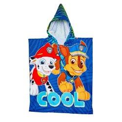 Paw Patrol - Kiddies Hooded Beach Towel Boys
