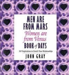 Men Are From Mars Women Are From Venus John Gray