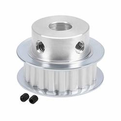 Uxcell Aluminum XL 20 Teeth 10MM Bore Timing Belt Pulley Synchronous Wheel For 10MM Belt 3D Printer Cnc