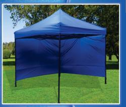 Ahmeds Textiles Gazebo - Tent + Side Walls - 3M X 3M Royal Blue