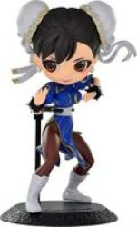 Qposket Street Fighter Figure - Chun-li Blue Outfit - Parallel Import
