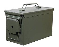 Fortress 50 Caliber Metal Ammo Can 50 Cal