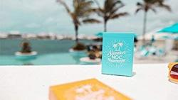 USA Mts Limited Edition Summer Noc Blue Playing Cards
