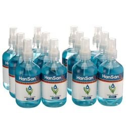 Hansanx 250 Ml Hand Sanitiser 12 Pack