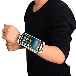 Faironly Sports Running Forearm Armband For 7 Universal Cell Phone Smartphones Arm Case For Exercise Blue