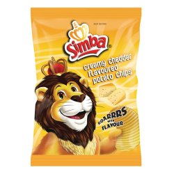 Simba Chips 36G Creamy Cheddar