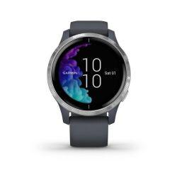 Garmin Venu Smart Watch Blue Granite With Silver