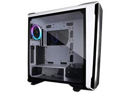Raidmax Magnus Z23 Full Tower Computer Gaming Case Tempered Glass 120 Mm Argb Fan And Argb Hub Controller Included White