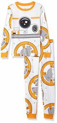 Star Wars BB-8 Costume Pj Pals For Boys Size 8 Multi