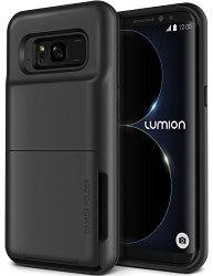 online store cc031 d3b69 Lumion Galaxy S8 Case Heavy Duty Drop Protection Hybrid Card Slot Wallet  Cover Wireless Charging Compatible For Samsung Galaxy S | R740.00 | Sports  ...