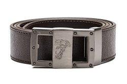 223042c1 Versace Collection Men's Medusa Steel Buckle Saffiano Leather Belt Brown |  R3295.00 | Fancy Dress & Costumes | PriceCheck SA