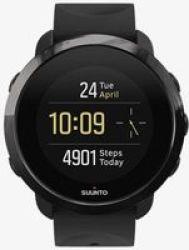 Suunto 3 Fitness Smart Watch in Metal Black