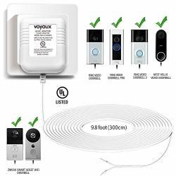 Doorbell Transformer 16V 800MA Power Adapter For Ring Video Doorbell Ring Video Doorbell Pro And Ring Video Doorbell 2 Transformer Compatible With Nest