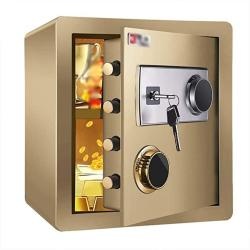 USA Zcf Security Safes MINI Safes Mechanical Security Safe Box Password Key Lock For Home Office Hotel Use Jewelry Cash Valuables Storage 3 Colors Color
