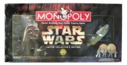 MONOPOLY 1997 Star Wars Limited Collector's 20TH Anniversary Edition