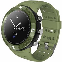 Smart Watch Gps 5ATM Waterproof Compass Heart Rate Monitor Outdoor Activity Fitness Tracker Color Screen