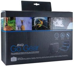 Jivo Go Kit For Gopro & Action Cams 11 Piece Kit