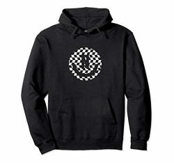 Neff Checkered Smiley Face Pullover Hoodie