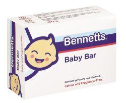 Bennetts - Baby Bar Soap - 6 X 100G