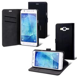 Muvit Folio Wallet For Galaxy J1 Mini Black