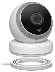 Logitech Circle Wireless HD Video Security Camera With 2-WAY Talk - White - Renewed