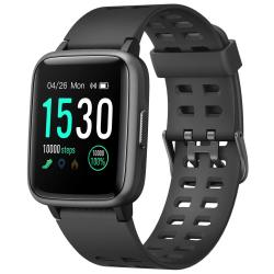 Ntech Veryfit ID205 Fitness Tracker Smart Watch With Heartrate Monitor - Black