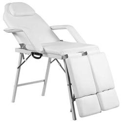 """Giantex 75"""" Massage Table Bed Chair Folding With Carry Bag Portable Beauty Spa Salon Equipment Barber Facial Tattoo Chairs"""