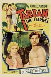 Pop Culture Graphics Tarzan The Fearless Poster Movie 1933 Style B 27 X 40 Inches - 69CM X 102CM Buster Crabbe Julie Jacqueline Wells Bishop E. Alyn Warren Edward Eddie