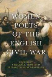 Women Poets Of The English Civil War Paperback