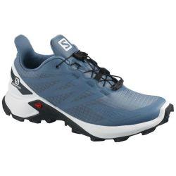 Salomon Women's Supercross Blast Trail Running Shoes - Blue