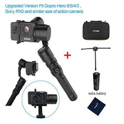 Smooth 3-Axle 360/° Horizontal Rotation Gimbal Stabilizer Handheld Stabilizer Gimbal for Smart Phones Heitamy Handheld Gimbal Stabilizer