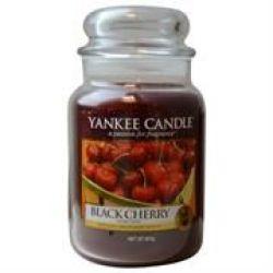 Yankee Candle Black Cherry Large Jar Retail Box No Warranty
