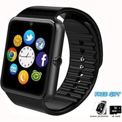 Smart Watch Phone Smartwatch With Pedometer Tf Sim Card Slot Camera Call Text Sms Notification Compatible With Android Samsung H