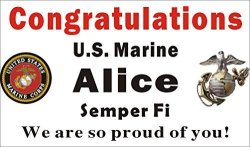 alice graphics 3ftx5ft custom personalized congratulations u s us