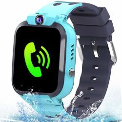 KIDS Mikin Smart Watch Phone IP67 Waterproof Gps Tracker For Girls Boys With Two Way Call Sos Camera Alarm Clock Games 1.44 Touch Screen