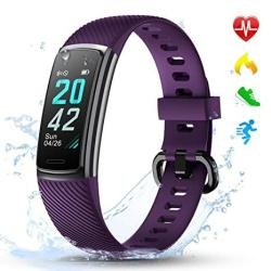 USA Letscom Fitness Tracker Hr Activity Tracker Watch With Heart Rate Monitor Step And Calorie Counter Screen IP68 Waterproof Pedometer Watch For Kids