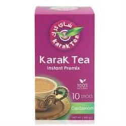 Karak Tea Instant Premix Cardamon Retail Box No Warranty