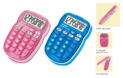 Sharp S10 - Colour Kids Calculator - Pink