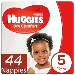 Huggies Dry Comfort 56 Nappies Size 5 Jumbo Pack