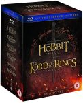 Hobbit Trilogy the Lord Of The Rings Trilogy: Extended Edition Blu-ray